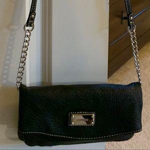 Nine West black crossbody/wristlet bag